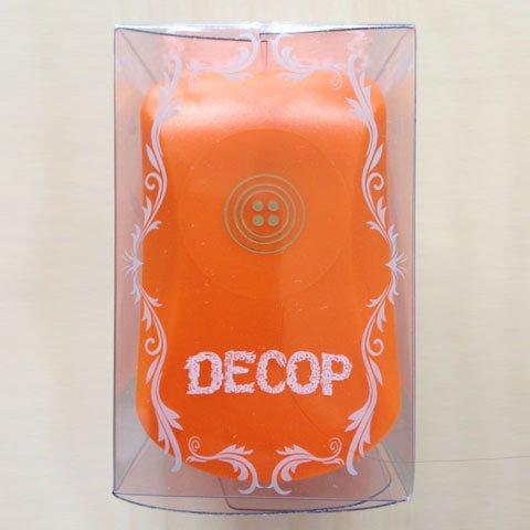 Decoration punch [DECOP ? Dekoppu embossing punch buttons 13mm