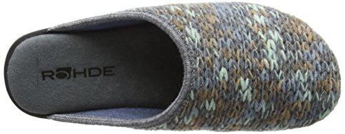 Rohde Femme Pantoufles 52 Bleu 4312 Baltic rvE5Frx