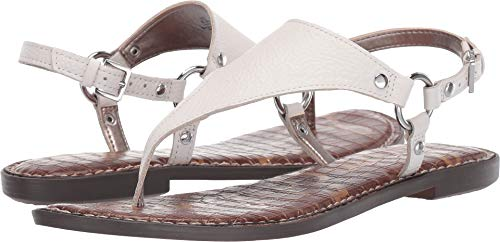 - Sam Edelman Women's Greta Bright White Botalatto Tumbled Leather 10.5 M US