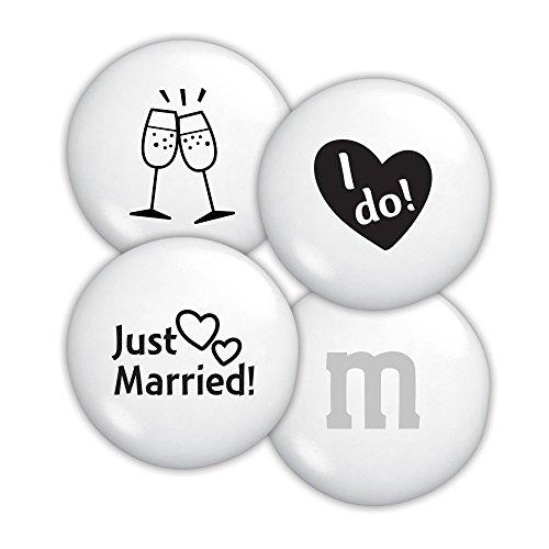 Just Married Custom M&M'S 2lb Bulk Candy Bag