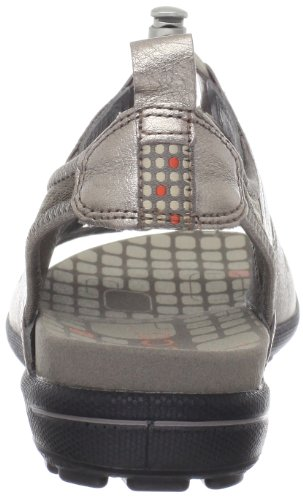 Warm Women's Grey Sandal Warm Jab Grey Metallic Toggle ECCO Uqwdva00