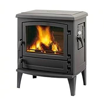 Leda chimenea Aruba 9 kW de carbón horno estufa de leña: Amazon.es: Bricolaje y herramientas