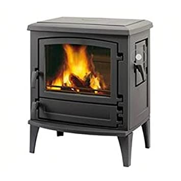 Leda chimenea Aruba 9 kW de carbón horno estufa de leña: Amazon.es ...