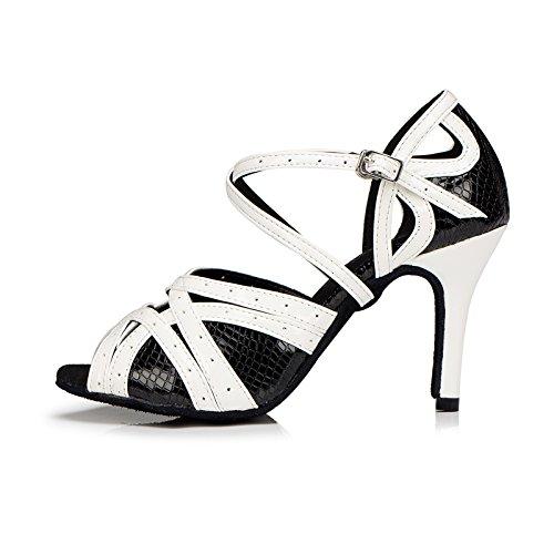 Meijili - Zapatillas de danza para mujer negro