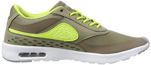 Donna 3433 Khaki Women Milla da Footwear Kappa Sneakers Verde Lime qxvZUfnFw