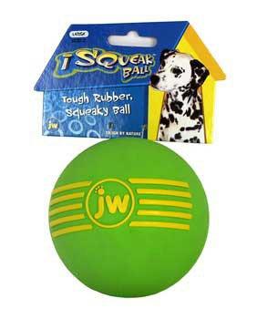 JW Pet iSqueak Ball Medium