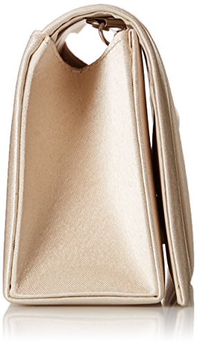Evening Bag Cocktail Clutch Satin Wedding Damara Champagne Elegance Handbag w0gnOqxUF