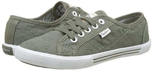 Anglaise Zapatillas Pepe Verde 17 iron Jeans Para Aberlady Mujer 1wqpqvR4x