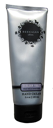 Heirloom Violets (Beekman 1802 Hand Cream 3.4 oz. (Heirloom Violet))