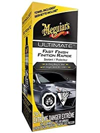 Meguiar's Ultimate Fast Finish Sealant, Easy Way to Car Wax, 241g (Non-Carb Compliant) - G18309C