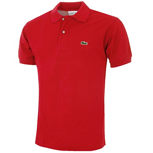 7f7207f7 Polo Shirt Lacoste Caiman Red - Buy Online in KSA. Clothing ...