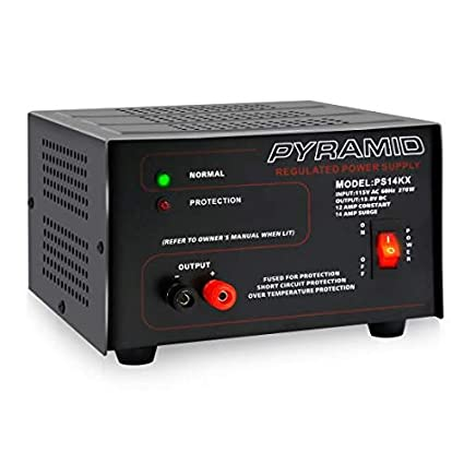 Amazon Com Universal Compact Bench Power Supply 12 Amp Linear