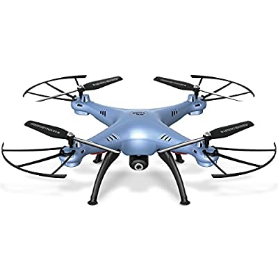 Cheerwing Syma X5HW-I FPV 2.4Ghz 4CH RC Headless Quadcopter Drone UFO with Hover Function HD Wifi Camera
