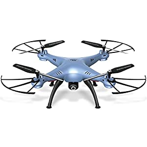 Cheerwing Syma X5HW-I FPV 2.4Ghz 4CH RC Headless Quadcopter Drone UFO with Hover Function HD Wifi Camera - 41 2ByU TbNlL - Cheerwing Syma X5HW-I FPV 2.4Ghz 4CH RC Headless Quadcopter Drone UFO Hover Function HD WiFi Camera