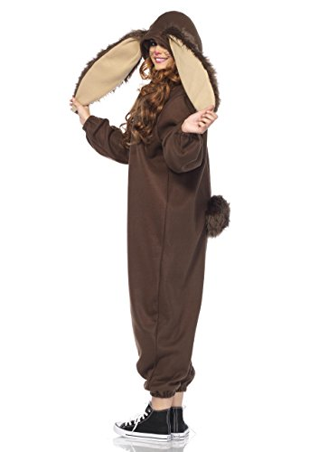 Leg Avenue Women's Lop Ear Bunny Kigurumi, Brown, Small/Medium by Leg Avenue (Image #2)