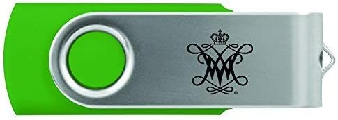 Inc LXG College of William /& Mary-8GB 2.0 USB Flash Drive-Green
