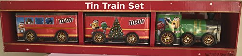 M&M's Collectible Tin Christmas Train Set with Chocolate for sale  Delivered anywhere in USA