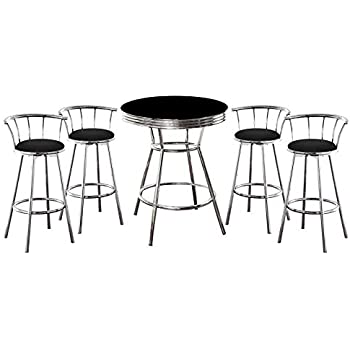 Amazon Com The Furniture Cove Man Cave Metal Bar Table