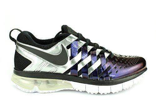 Nike Mens Fingertrap Max Amp Running Shoes (11, Ink/Black-White-Total Orange)