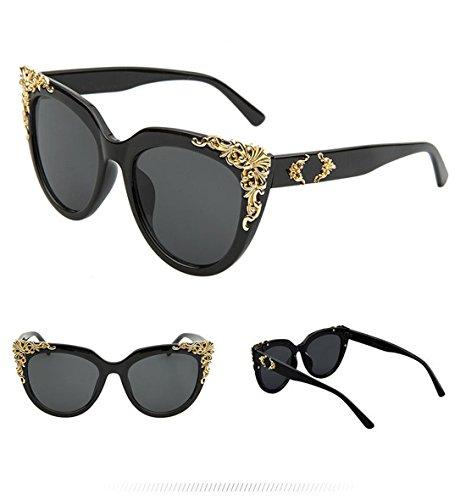 de C GCC Gafas Gafas Sol Sol de de B Moda de Encaje Metal aBqxzBwUO