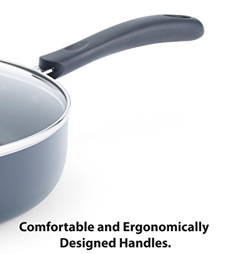 T-fal A80789 Specialty Nonstick Dishwasher Safe Oven Safe PFOA-Free Jumbo Wok Cookware, 14-Inch, Black