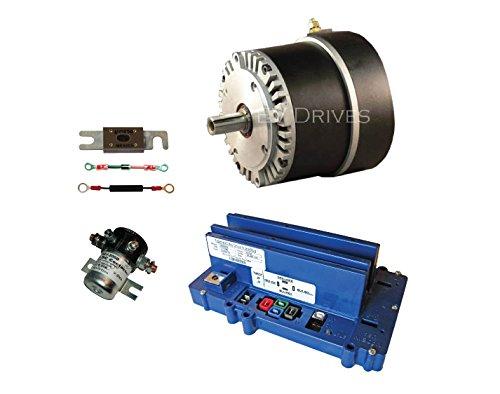 Alltrax Controller - Conversion Kit - Motenergy ME0909 Motor, Alltrax SR48300 Controller & Accessories