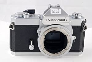 Nikon Nikkormat FT2 SLR film camera; body only, lens is not included