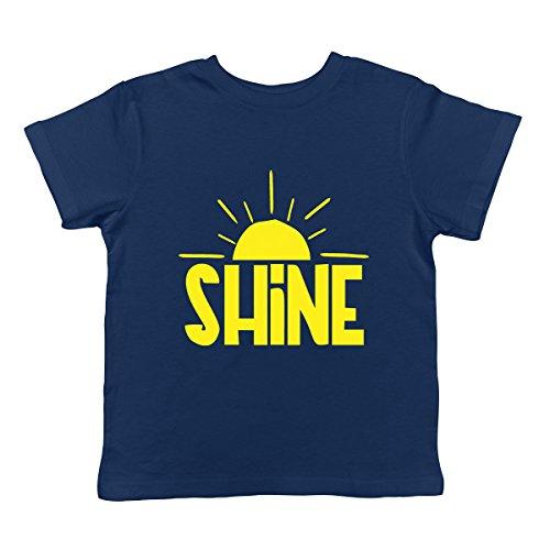 (SpiritForged Apparel Shine Infant T-Shirt, Navy 12 Months)