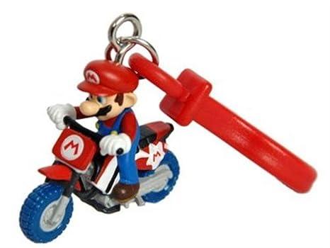 Amazon.com: Mario Kart Wii de plástico Clip Llavero Mario en ...