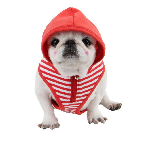 Puppia Halcyon Harness, M, Red: Amazon.co.uk: Pet Supplies