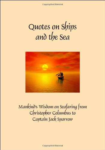 Quotes on Ships and the Sea (Hardcover)