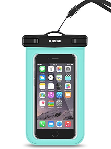 Kosse Waterproof Cell Phone Dry Bag Case with for...