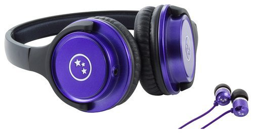 Able Planet Musicians' Choice Over-the-Ear Stereo Headphones PLUS Sound Isolation Earphones, SH180PRM-SI170PR, (Able Planet Headphones)
