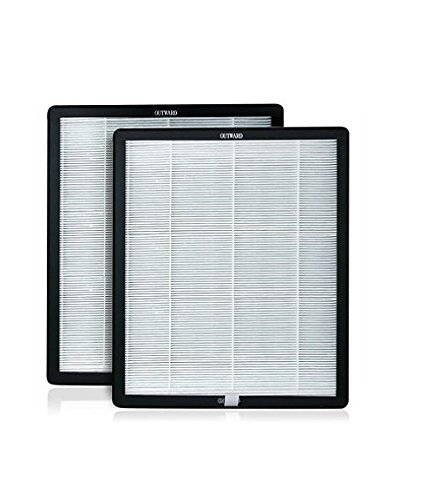 Advanced Pure Air Newport 9000 Replacement HEPA/Carbon Filter (2 pack) | 99.97% effective in capturing airborne - Seating Theater Collection