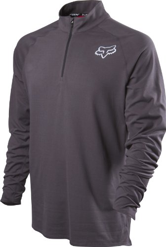 Fox Head Men's Monitor Pullover, Charcoal, (Fox Racing Thermal Shirt)