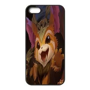 HQYDIY Custom league of ledgends Plastic Case, DIY league of ledgends Hard Cell Phone Case for Iphone 5,5s