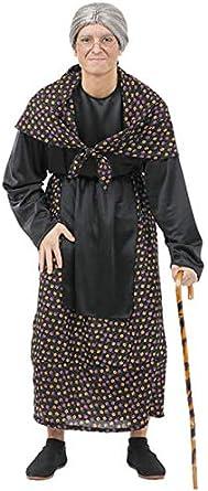 Disfraz de vieja pueblo hombre: Amazon.es: Ropa y accesorios
