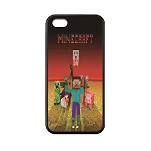 Minecraft game print on hard case for iphone 5C Case Combo DK683340