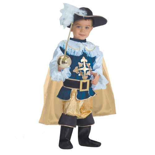 Musketeer Costume Toddler (Deluxe Musketeer - Toddler T4)