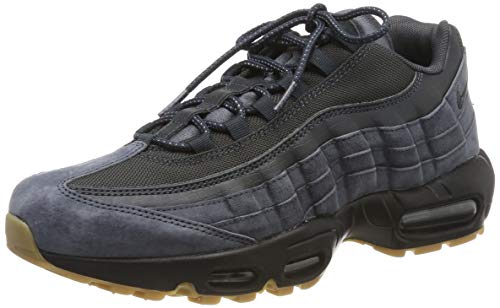 Nike Air Max 95 SE Mens Running Trainers AJ2018 Sneakers Shoes (UK 6 US 7 EU 40, Anthracite Black 002)
