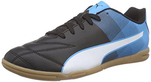 Puma Adreno II IT, Herren Hallenschuhe, Schwarz (black-white-atomic blue 03), 42 EU (8 Herren UK)