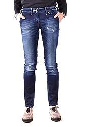 Jacob Cohen Women S Mcbi31859 Blue Cotton Jeans