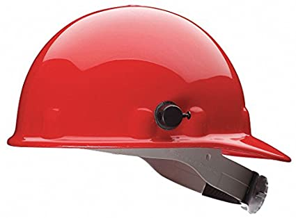 Casco de protección, Ala Delantero, G/C, trinquete, rojo
