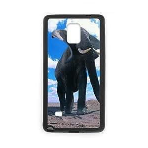 Elephant Samsung Galaxy Note 4 Cell Phone Case Black TV0707978