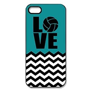 Volleyball Logo Blue-green Fashion Shell Protector For Case Iphone 6Plus 5.5inch Cover