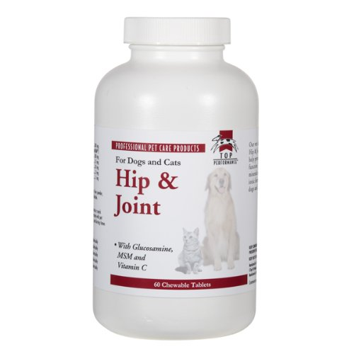 Top Performance Dog and Cat Hip/Joint Tablet, 60 Count, My Pet Supplies