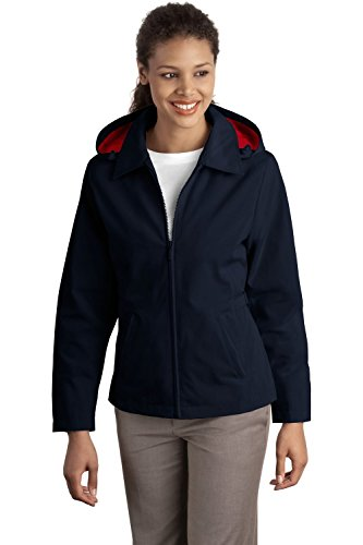 Port Authority Women's Port Authority Ladies Legacy Jacket. M Dark Navy/Red