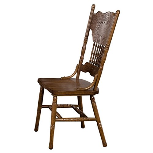 Coaster Home Furnishings 104262 Country Dining Chair, Oak, Set of 2 by Coaster Home Furnishings (Image #1)