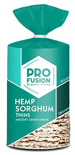 Profusion Hemp Sorghum Organic Thins 120g (Pack of 6)