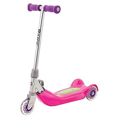 Razor Jr. Folding Kiddie Kick Scooter - Pink: Sports & Outdoors